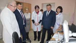 Замгубернатора Брянщины Владимир Оборотов посетил Гордеевский район