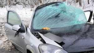 Под Брянском водитель «Опеля» врезался в электроопору и погиб