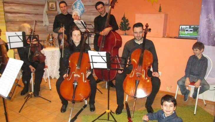В Брянске на улице Арсенальной открыли Детский центр «Рождество»