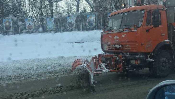 Брянским чиновникам дали рецепт для очистки дорог от снега