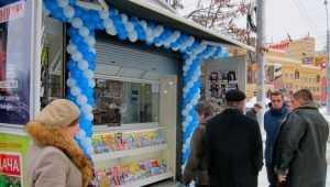 В Брянске открыли первый газетный киоск «Почитай»