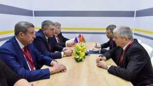 В Сочи брянский глава и белорусский посол договорились о сотрудничестве