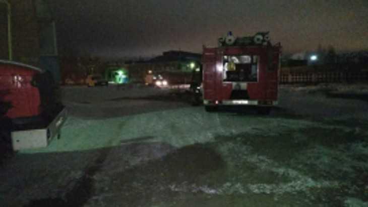 В Локте при пожаре в доме пострадал человек