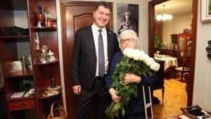 Антонина Курасова отметила в Брянске свой день рождения