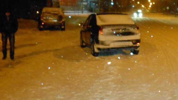 В Брянске при столкновении автомобилей пострадал человек