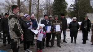 В Севске провели гонки в память о лыжных бригадах бойцов из Сибири