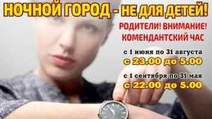 В Брянске не нашли нарушителей «комендантского часа»