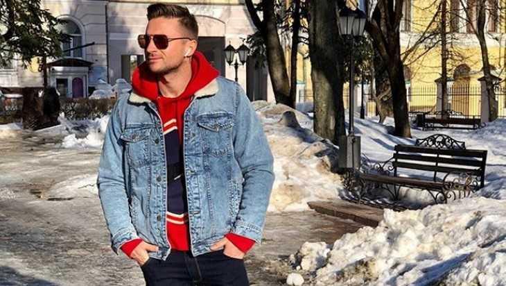 Певец Сергей Лазарев встретил весну в Брянске
