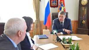 Губернатору рассказали о развитии и задачах Стародубского района