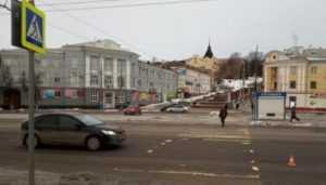 В Брянске на набережной «Газель» покалечила 62-летнюю женщину