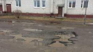 Жители Шибенца пожаловались на плохие дороги