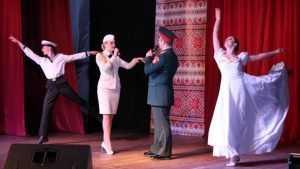 В Жуковке триумфально прошел концерт ансамбля имени Александрова