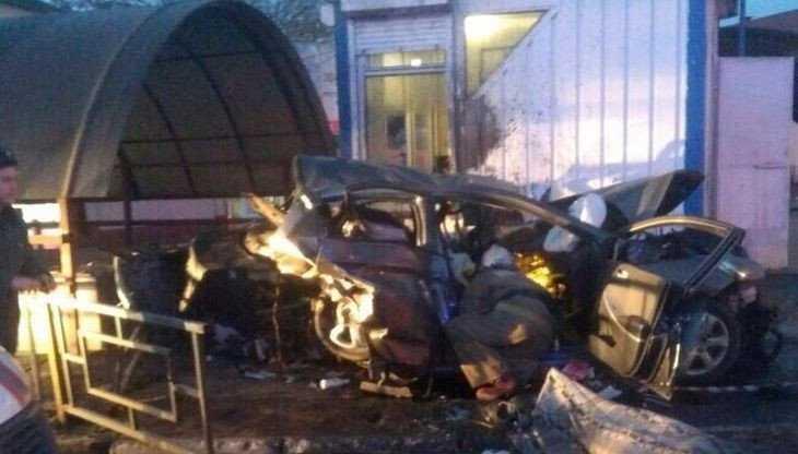 К трагическому ДТП в Брянске привела огромная скорость Hyundai Solaris