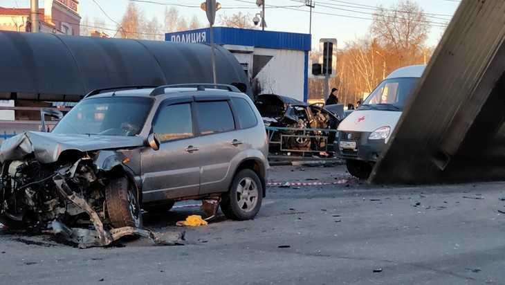 В Брянске опубликовано видео с места страшного ДТП у автовокзала