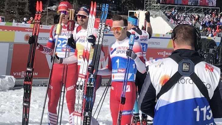 Брянский лыжник Большунов стал вторым в гонке на 50 км на ЧМ