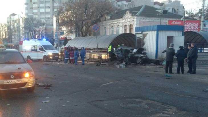 В трагическое ДТП у автовокзала Брянска попал 24-летний таксист-лихач