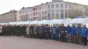 Брянские больницы получили 21 машину скорой помощи