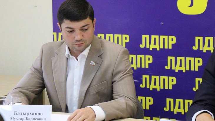 Брянского депутата Мухтара Бадырханова исключат из ЛДПР