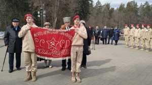 Боевое знамя партизанского отряда вернулось на Брянщину спустя 76 лет