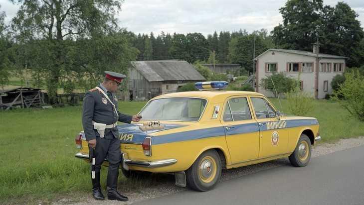 В Брянске у «Таксопарка» гаишники устроят охоту на пьяных лихачей