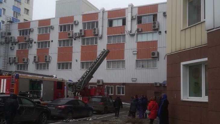 В Брянске в ТРЦ «Мельница» на Красноармейской улице случился пожар