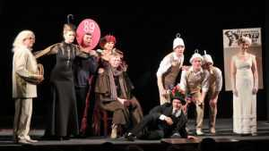 День театра вБрянске по традиции отметили капустником