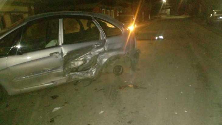 Житель Суража пострадал при столкновении «Рено» и «Ситроена»