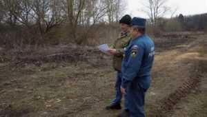 За сутки брянских пожарных 52 раза вызвали на тушение горевшей травы