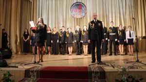Брянские кадеты покорили песней белорусский Могилёв