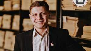 В БГТУ самым талантливым студентом назвали Сергея Праздникова