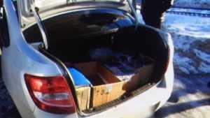 В Брянске у торговцев изъяли 1300 поддельных пачек сигарет