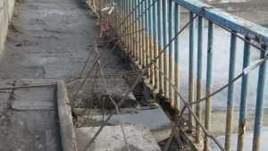 Мосты над украинской частью Северо–Крымского канала начали рушиться