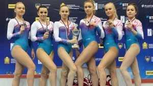 Брянская гимнастка Таисия Бороздыко взяла «серебро» чемпионата России