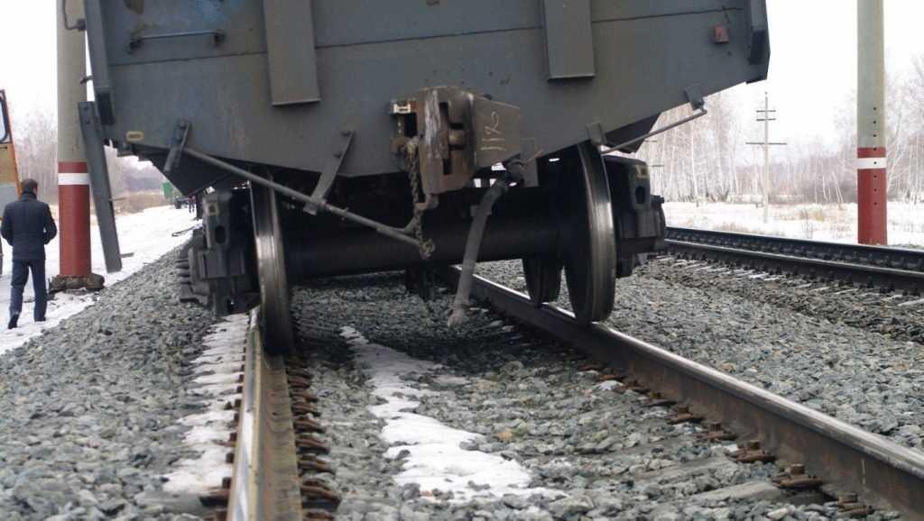 Охотники за металлом совершили налет на грузовой поезд Брянск – Гомель