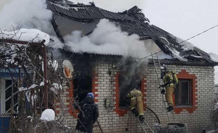 В трубчевском селе 8 марта при пожаре погиб пенсионер