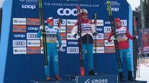 Король Норвегии Харольд V поздравил брянского лыжника Большунова