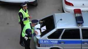 В Брянске после погони ГИБДД задержан пьяный 21-летний водитель