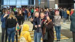 В Брянске экстренно эвакуировали ТРЦ «Аэропарк»