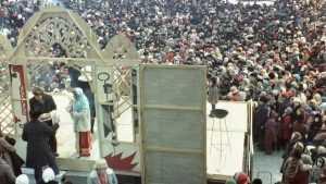 Старые снимки рассказали о праздновании Масленицы в Брянске 1981 года