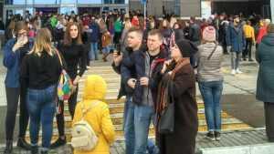 «Нас вывели босиком»: посетители «Аэропарка» рассказали об эвакуации