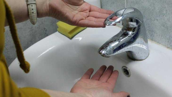 Три микрорайона в Брянске оставят без воды на сутки