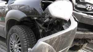 В Климовском районе водитель HyundaiTucson врезался в дерево