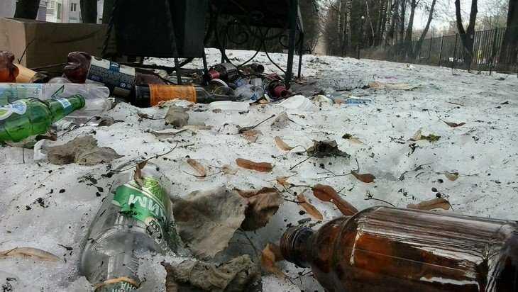 В Брянске «сквер Денина» стал местом развращения детей