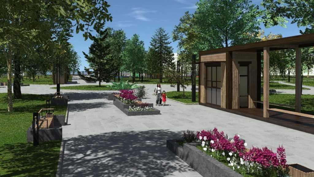 Власти Брянска представили проекты преображения городских парков