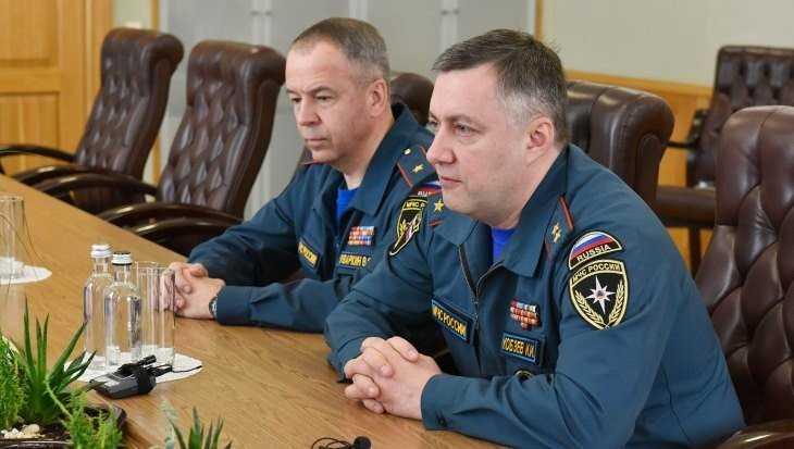 В Брянске замминистра МЧС Кобзев поблагодарил губернатора Богомаза