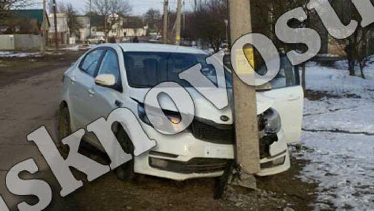 Автомобилистка оставила пол-Новозыбкова без уличного освещения