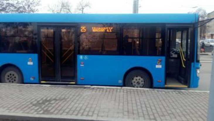 В брянском автобусе упала и покалечилась 78-летняя пассажирка