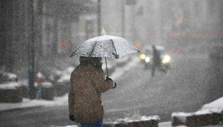 В Брянскую область вернутся дождь со снегом и 7-градусное тепло