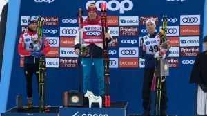 Брянский лыжник Большунов выиграл 15-километровую гонку в Швеции