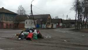 Символом брянского города стали мусорные кучи